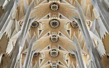 <p>Interior Sagrada Familia</p>